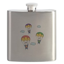 Parachute Kids Flask
