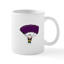 Parachuting Boy Mugs