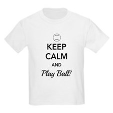 Keep calm and play ball T-Shirt