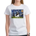 Starry Night Tri Cavalier Women's T-Shirt