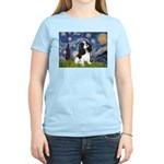 Starry Night Tri Cavalier Women's Light T-Shirt