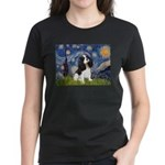 Starry Night Tri Cavalier Women's Dark T-Shirt