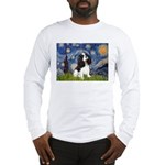 Starry Night Tri Cavalier Long Sleeve T-Shirt
