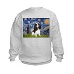 Starry Night Tri Cavalier Kids Sweatshirt