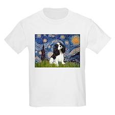Starry Night Tri Cavalier T-Shirt