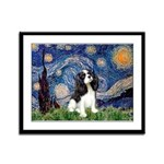 Starry Night Tri Cavalier Framed Panel Print
