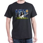 Starry Night Tri Cavalier Dark T-Shirt