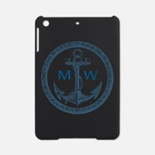 Anchor, Nautical Monogram iPad Mini Case