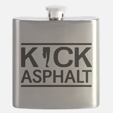 Kick asphalt Flask