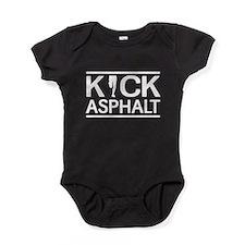Kick asphalt Baby Bodysuit