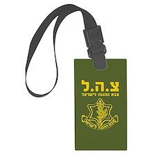 IDF Israel Defense Forces - HEB Luggage Tag