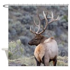 Unique Horns Shower Curtain