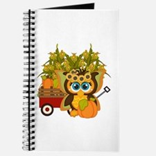 Fall Fairy Owl - Journal