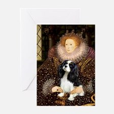 The Queen's Tri Cavalier Greeting Cards (Pk of 10)