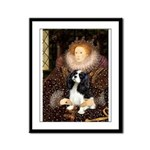The Queen's Tri Cavalier Framed Panel Print
