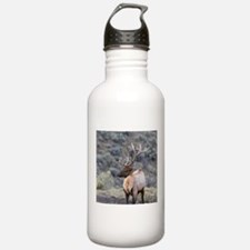 Cute Bull horns Water Bottle