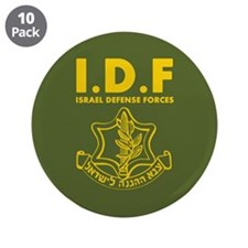 "IDF Israel Defense Forces - ENG 3.5"" Button (10 pa"