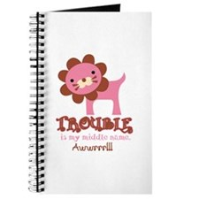 Cute Trouble Lion Journal