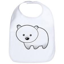 Cute Polar Bear Bib