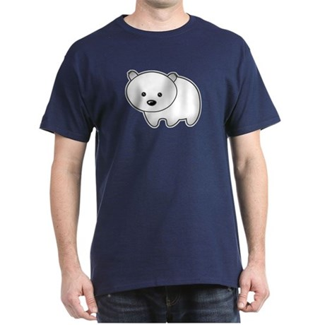 Cute Polar Bear Dark T-Shirt