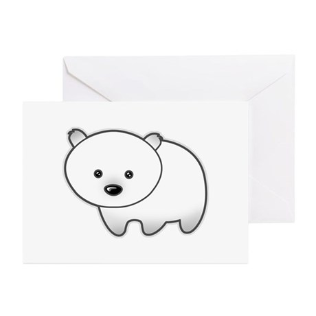 Cute Polar Bear Greeting Cards (Pk of 10)