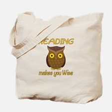 Reading Wise Tote Bag