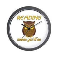 Reading Wise Wall Clock