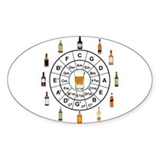 Circle of Whiskey 5th Decal