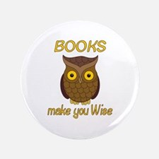 "Book Wise 3.5"" Button"