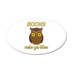 Book Wise Wall Decal