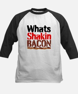 Whats Shakin Bacon Baseball Jersey