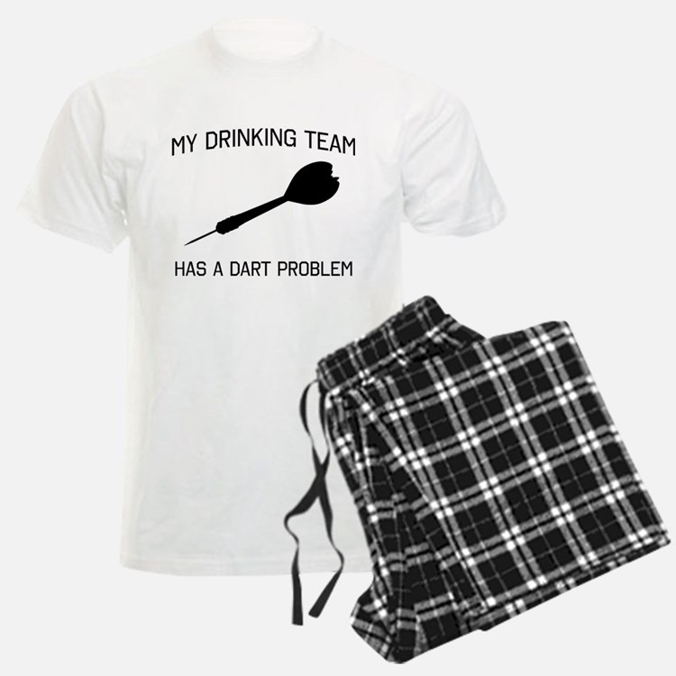 Drinking team dark problem Pajamas