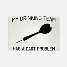Drinking team dark problem Magnets