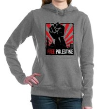 Free Palestine Women's Hooded Sweatshirt