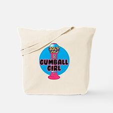 Gumball Girl Tote Bag
