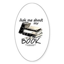 Pocket Design: Ask Me About My Book Decal