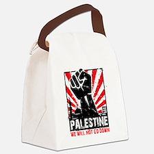 Unique Free palestine Canvas Lunch Bag