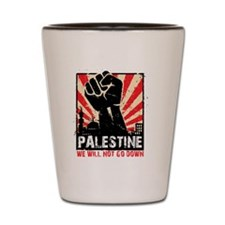 free palestine Shot Glass