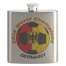 2014 World Champions Germany Flask