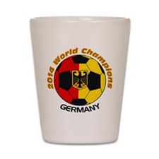 2014 World Champions Germany Shot Glass