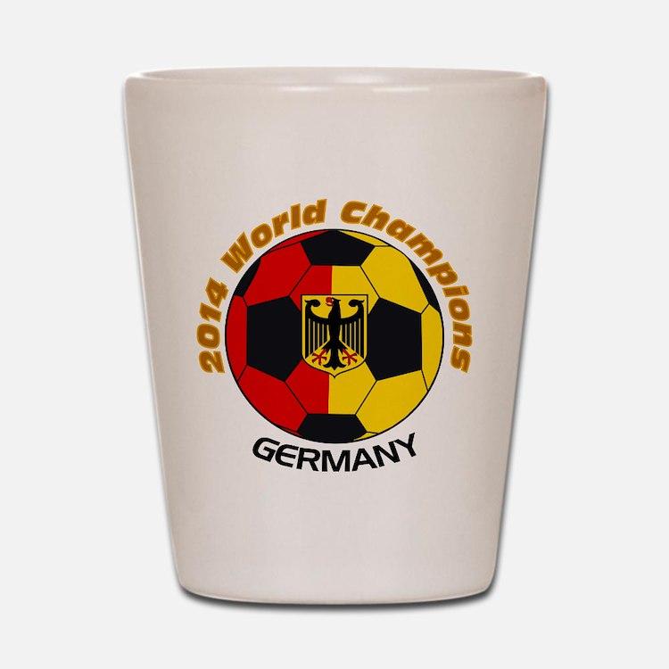2014 World Champions Germany Shot Glass