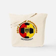 2014 World Champions Germany Tote Bag