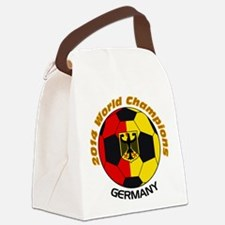 2014 World Champions Germany Canvas Lunch Bag