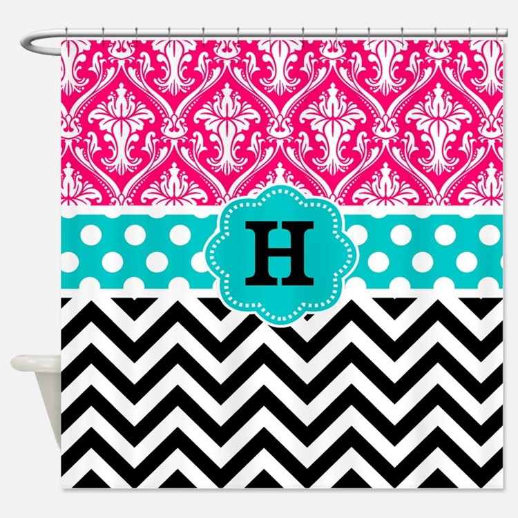 Teen Girls Shower Curtains