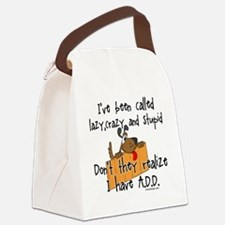 Funny Attention deficit disorder Canvas Lunch Bag
