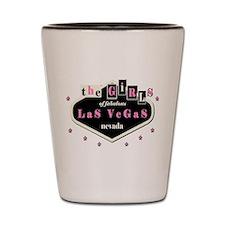 The Girls Las Vegas Shot Glass