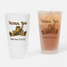 Tactical Toad Drinking Glass