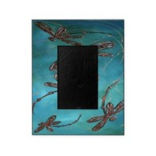 Dragonfly Flit Turquoise Picture Frame