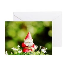 Funny Dandelion art Greeting Card