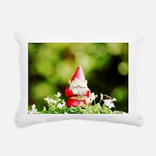 Funny Dandelion white black Rectangular Canvas Pillow